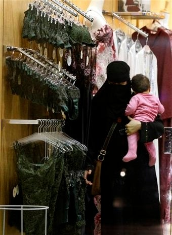 Saudi Women Trained To Sell Underwear