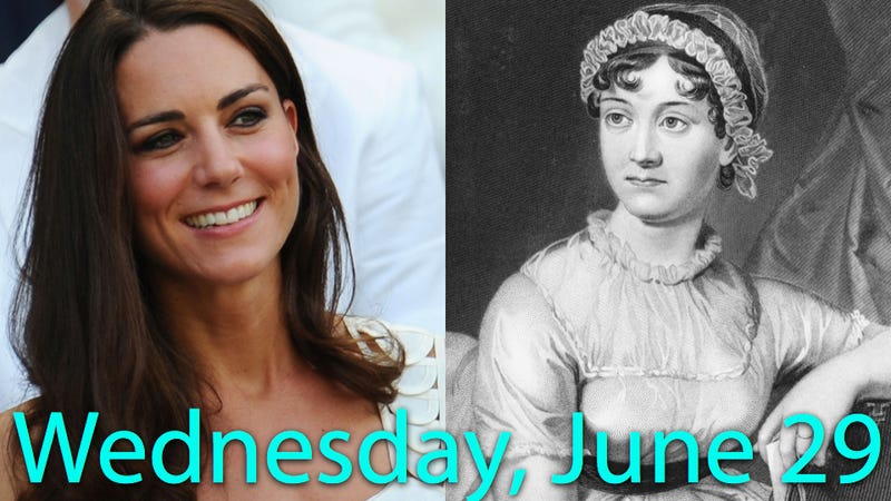 Kate Middleton and Jane Austen Are Related
