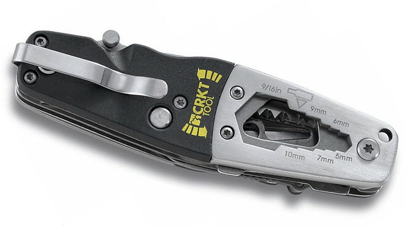 Improved Multitool Design Makes Room For a Built-in Wrench