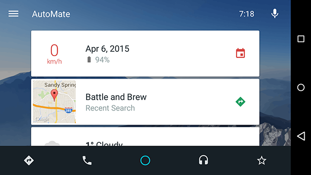 AutoMate Turns Your Phone into an Android Auto-Style Dashboard