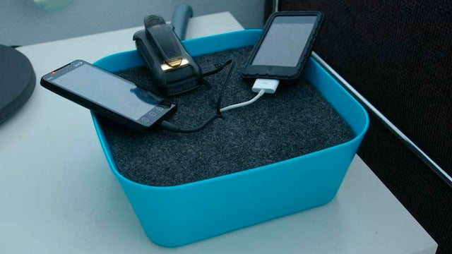 Make an Affordable, Fairly Good-Looking Charging Station for Less than $10