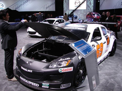 This Racing Mazdaspeed RX-8's Missing A Heart