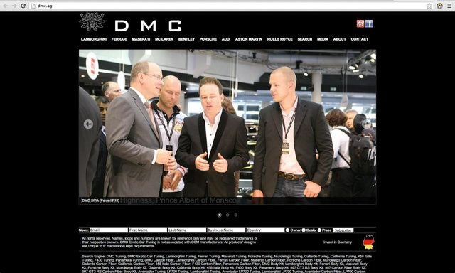 DMC Tuning Germany - Defrauds Numerous Exotic Car Owners