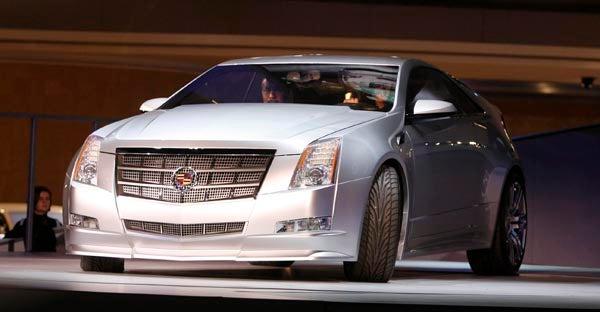 Detroit Auto Show: Cadillac CTS Coupe
