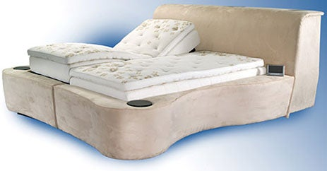 Starry Night Sleep Technology Bed, a $50K Magic Carpet of Gadgety Delights
