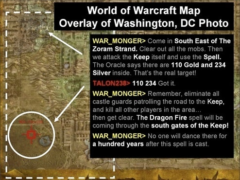 Fun with FUD: Warcraft Helpin' th' Terrists?