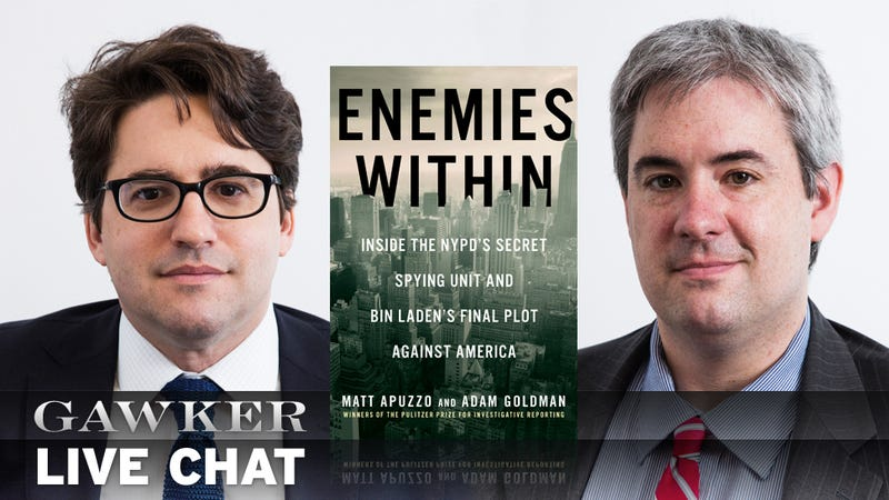 Chat With the Pulitzer-Winners Who Exposed The NYPD's Spy Ring