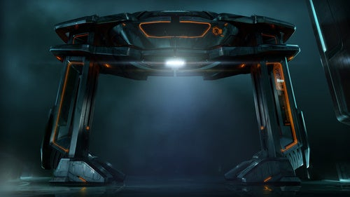 A Slew Of Mysterious Tron Legacy Concept Art