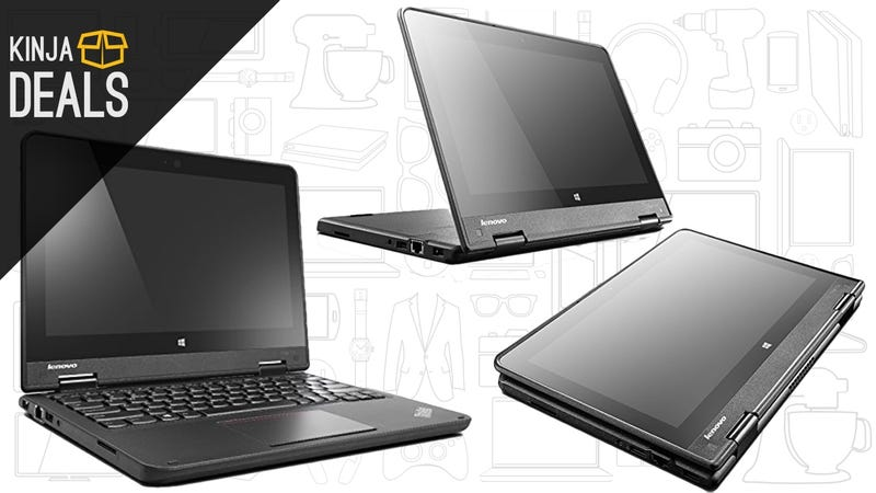 Add This Versatile ThinkPad Yoga To Your Bag For $270, Today Only