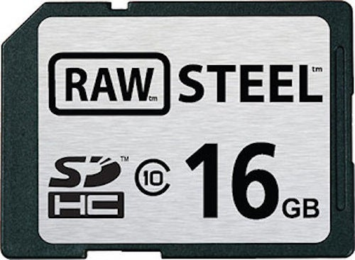 RAW STEEL Laughs at Other Weak, Pathetic SD Cards