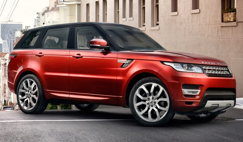 2014 Range Rover Sport: Ok, Seriously, This Is Really Pretty Much All Of It
