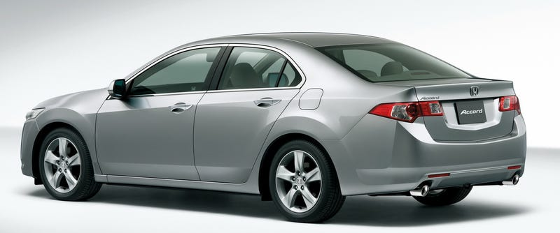 2009 Honda Accord Sedan, Tourer Unveiled For JDM