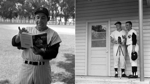 Never-Before-Seen Spring Training Photos Of Yogi Berra And The '61 Yankees, Taken By A '61 Yankee