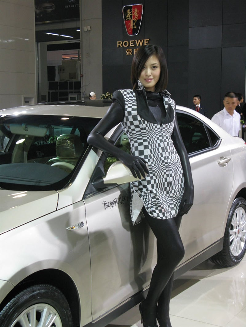 The Booth Professionals of the 2008 Guangzhou International Auto Show