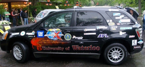 Giz Test Drive: Student-Built Challenge X Fuel-Cell Car in NYC
