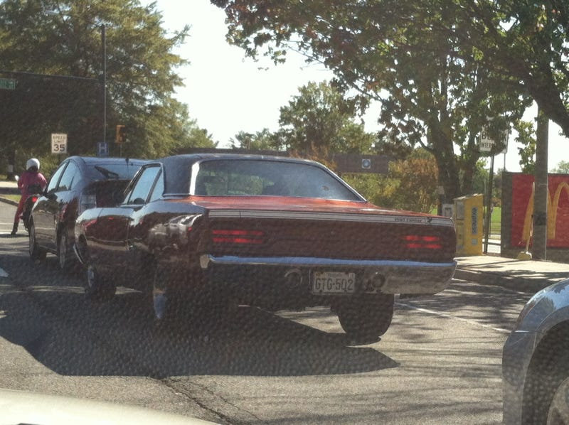 I just saw a modified GT-R and older guy in a Roadrunner this morning (and other spotted cars)