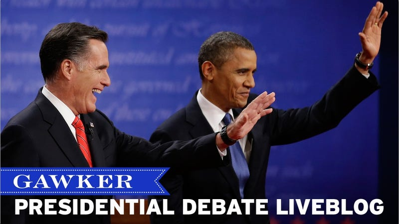 Robot-Human Charisma Wars: The Second Gawker 2012 Presidential Debate Liveblog