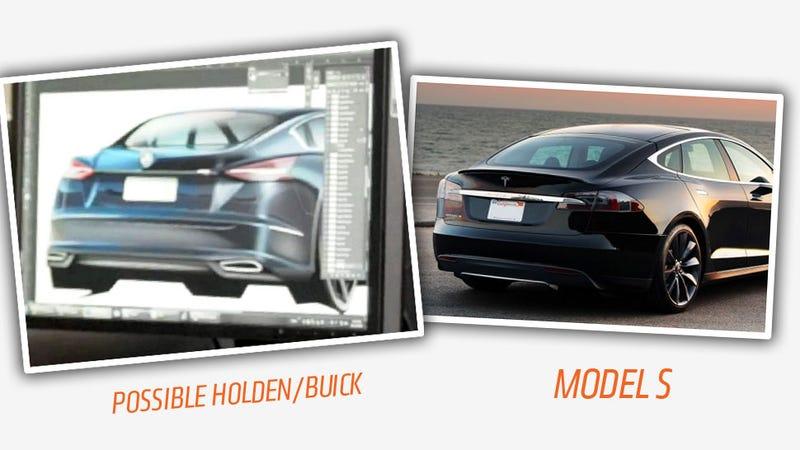 Did GM Leak Buick's Next Flagship Sedan In Australia?