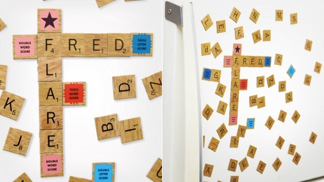 A Scrabble Magnet Set Is Your Excuse to Spend More Time in the Kitchen