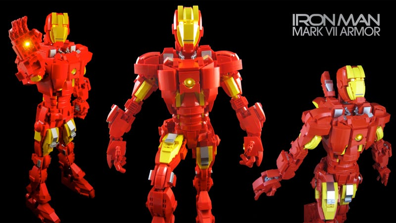 Awesome Lego Iron Man Shows Why They Need to Make a Line of Superhero Action Figure