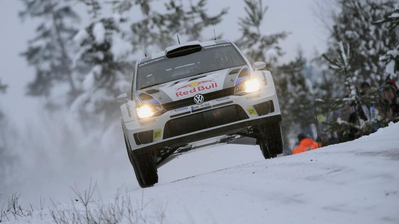 Volkswagen WRC Team Claims Maiden Victory In Sweden