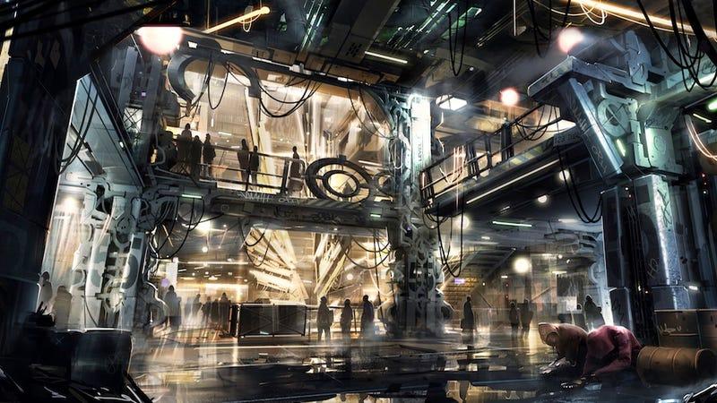 Your First Look At Next-Gen Deus Ex