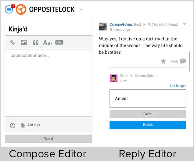 A New Mobile Editor Experience on Oppositelock