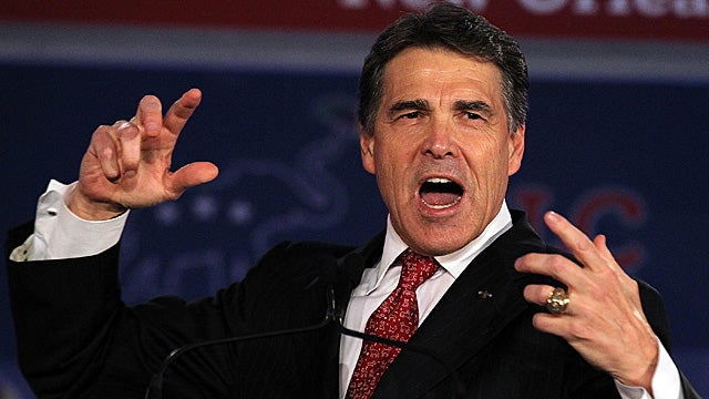 Rick Perry Gives Up the Ghost on the 'Intelligent Design' Lie