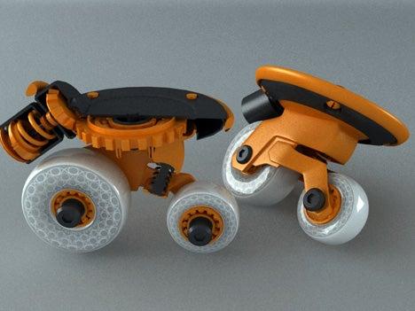 Super Inline 720 Skates Let SK8Rz Go Sideways and Spin