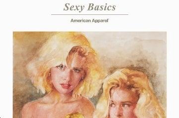 American Apparel's Watercolor Porn