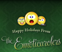 The Emoticarolers Customize Your Singing E-Card