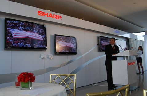 Sharp Unveils D64U, The Thinnest Aquos LCD TV Line Ever