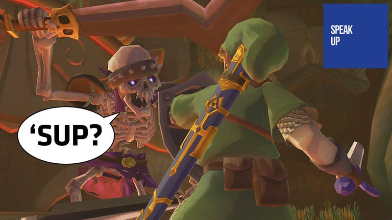 Why Won't These Legend of Zelda Characters Talk To Us?
