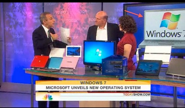 The Today Show Helps Microsoft Launch Windows 7 On a MacBook Pro