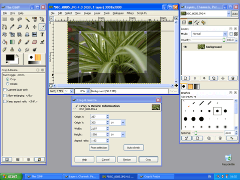 Get the feel of Photoshop in GIMP with GIMPshop