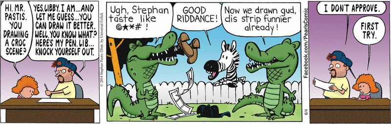 Calvin & Hobbes' creator has been secretly drawing this comic strip!