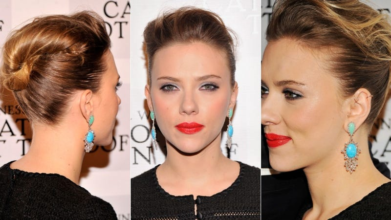 Here's Scarlett Johansson and Her Purrfect Skin at Cat On a Hot Tin Roof's Opening Night