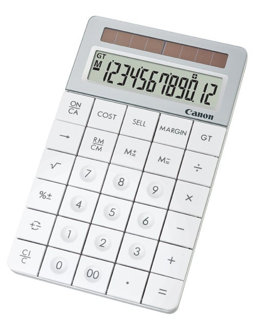 Canon Calculator X Mark I Is Made Out of Recycled Lenses