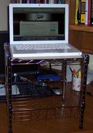 Create a Simple Standing Desk for $20