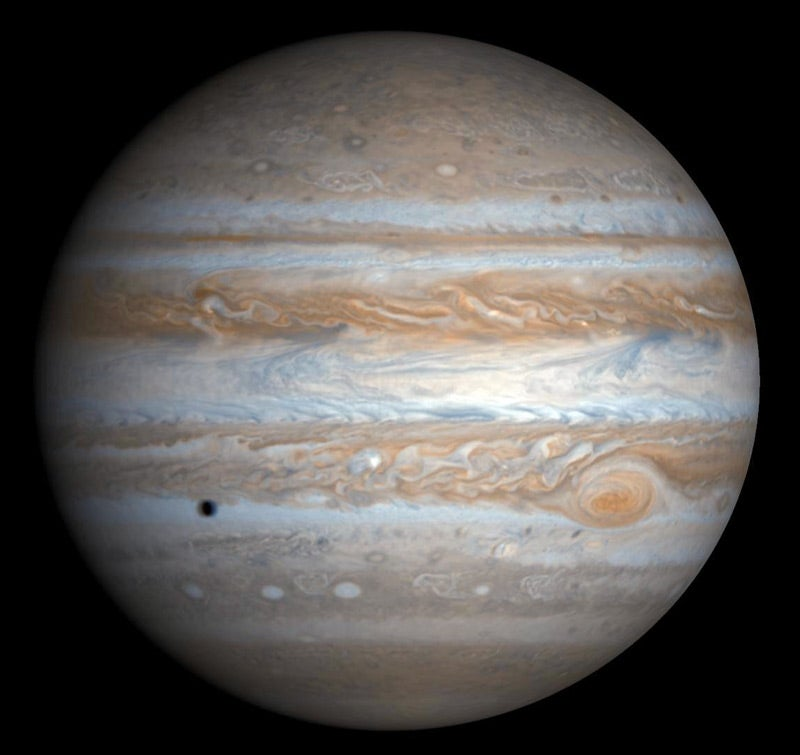 What Jupiter can tell us about the formation of the universe