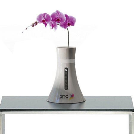 Wireless Router Flower Vase Concept Also Doubles As Nuclear Cooling Tower