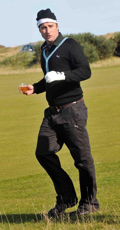 Luke Wilson: Scotch In Hand On Scottish Highlands