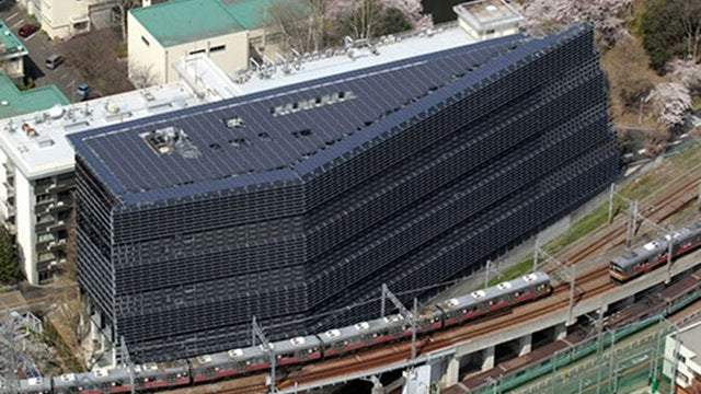 The Tokyo Institute of Technology's New Innovation Building Is Entirely Covered in Solar Panels