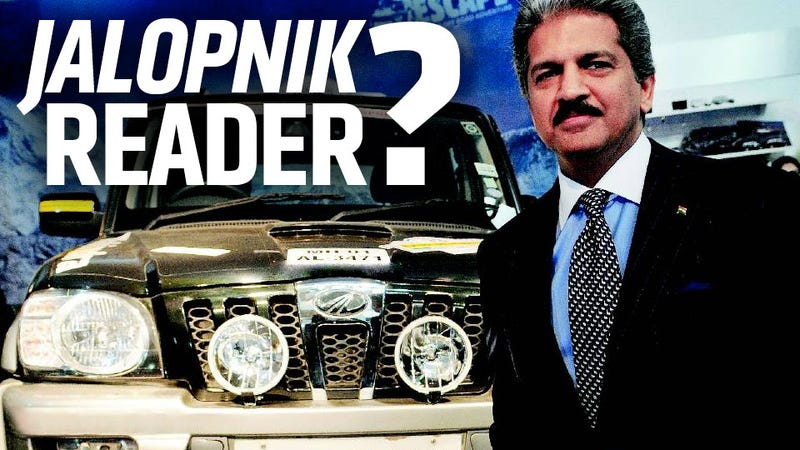 The Chairman Of One Of India's Largest Car Companies Makes Me An Offer