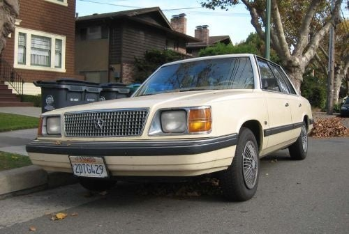 1987 Plymouth Reliant K LE