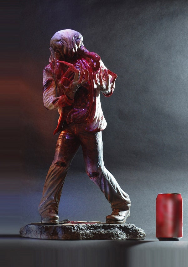A Closer Look At Half-Life 2's Headcrab Zombie Statue