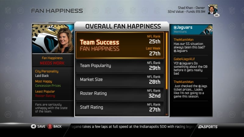 Keep Fans Happy—Or Break Their Hearts—as an NFL Owner in Madden 25