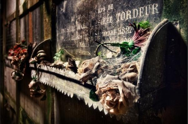 This abandoned tomb in Belgium would be the perfect set for a horror movie