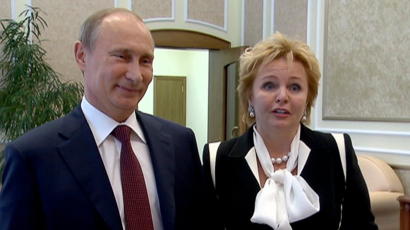 Vladimir Putin Announces Divorce From Wife of 30 Years