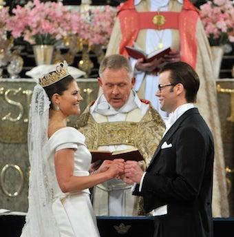 Swedish Crown Princess' Wedding: Pretty Nice